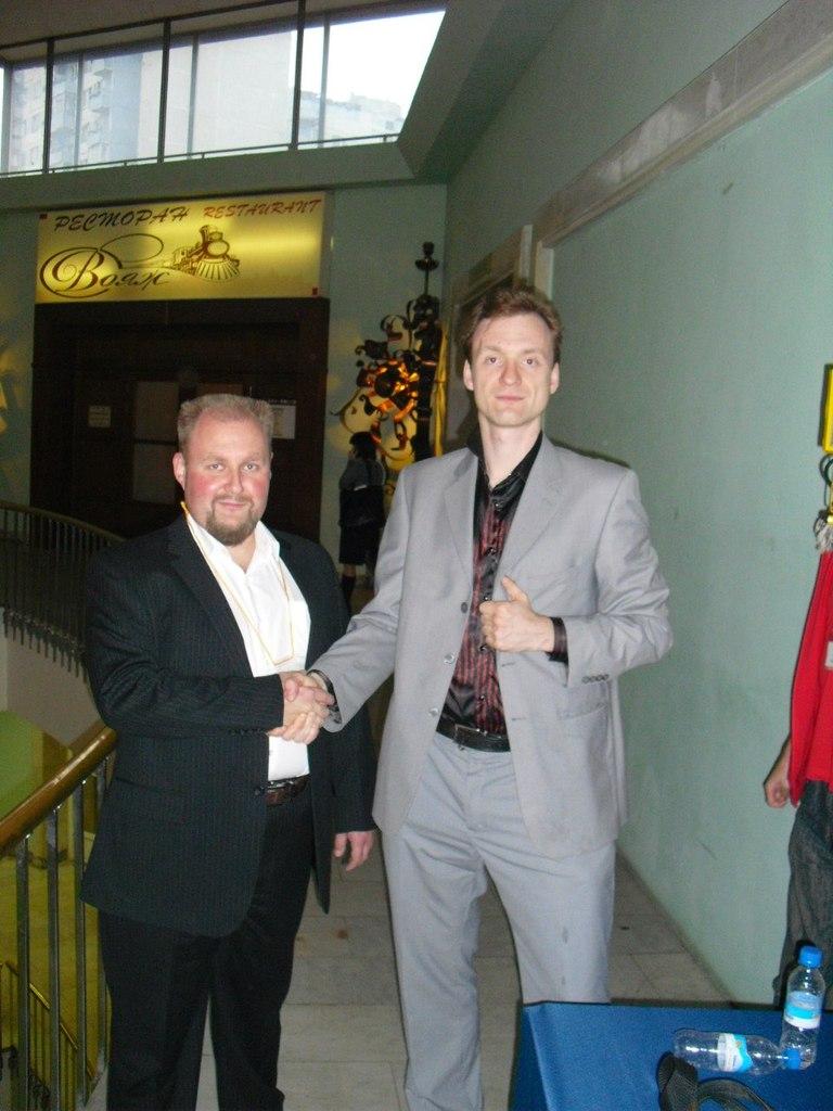 Сергей Архангельский и Павел Колесов