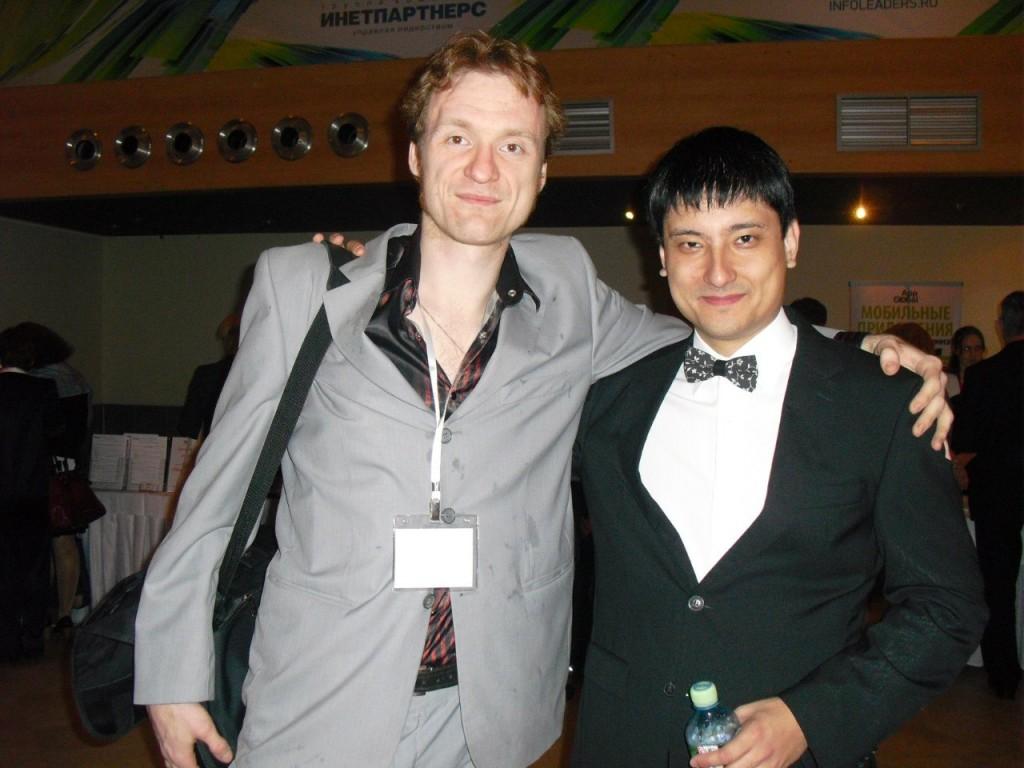 С Азаматом Ущановым